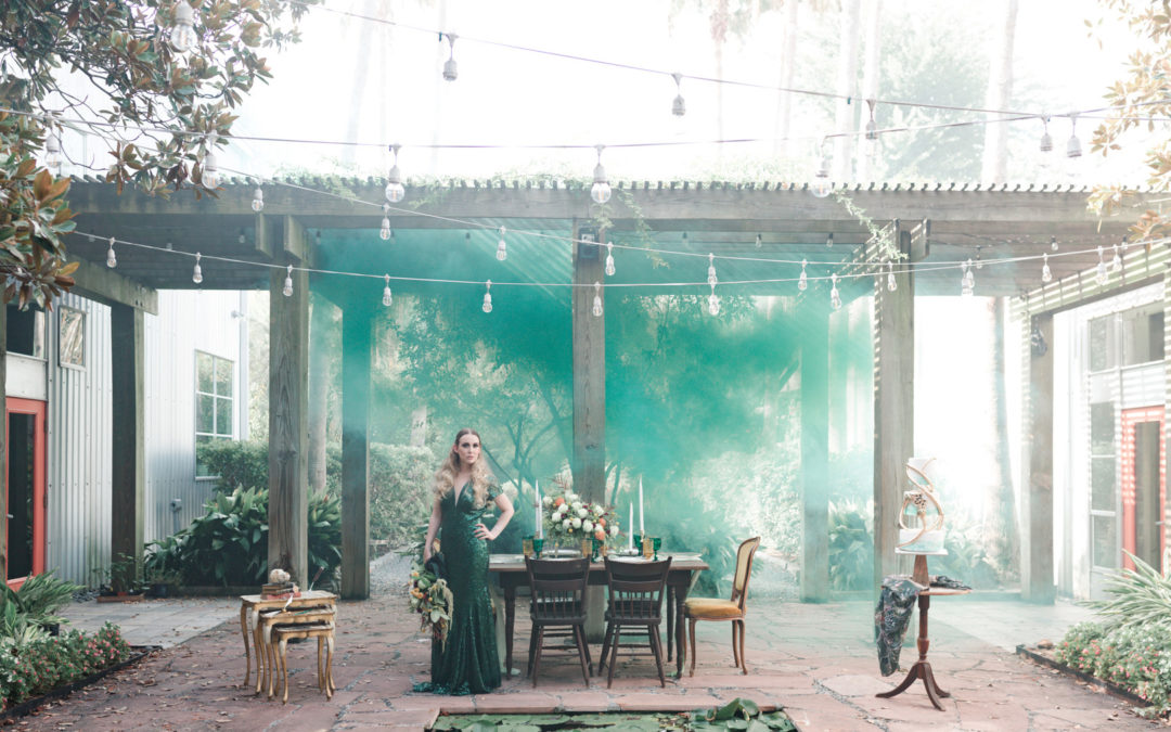 Harry Potter/Slytherin Inspired Styled Shoot