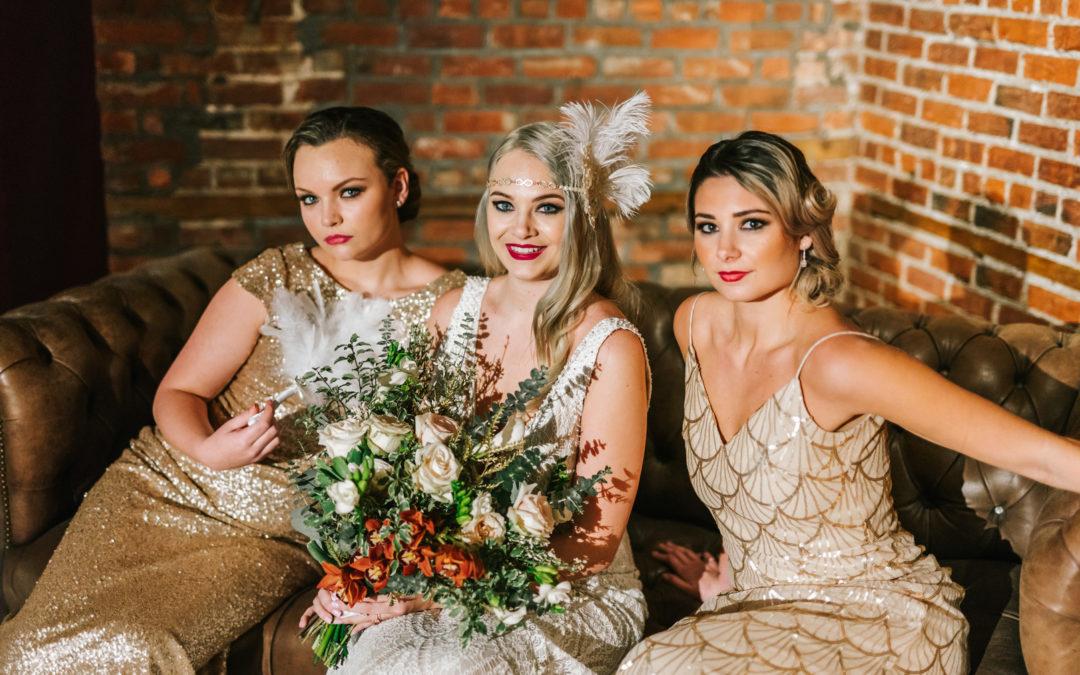 A Great Gatsby Inspired Wedding Shoot