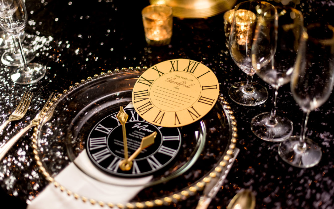 """When the Clock Strikes 12 Affair"", A New Year's Eve Styled Shoot"