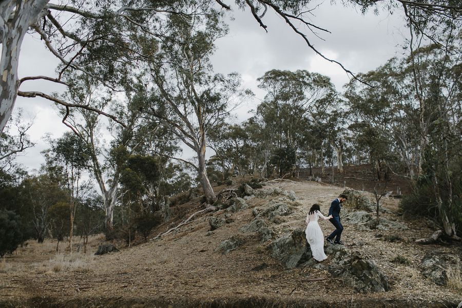 Outdoor Bushland Australia Wedding
