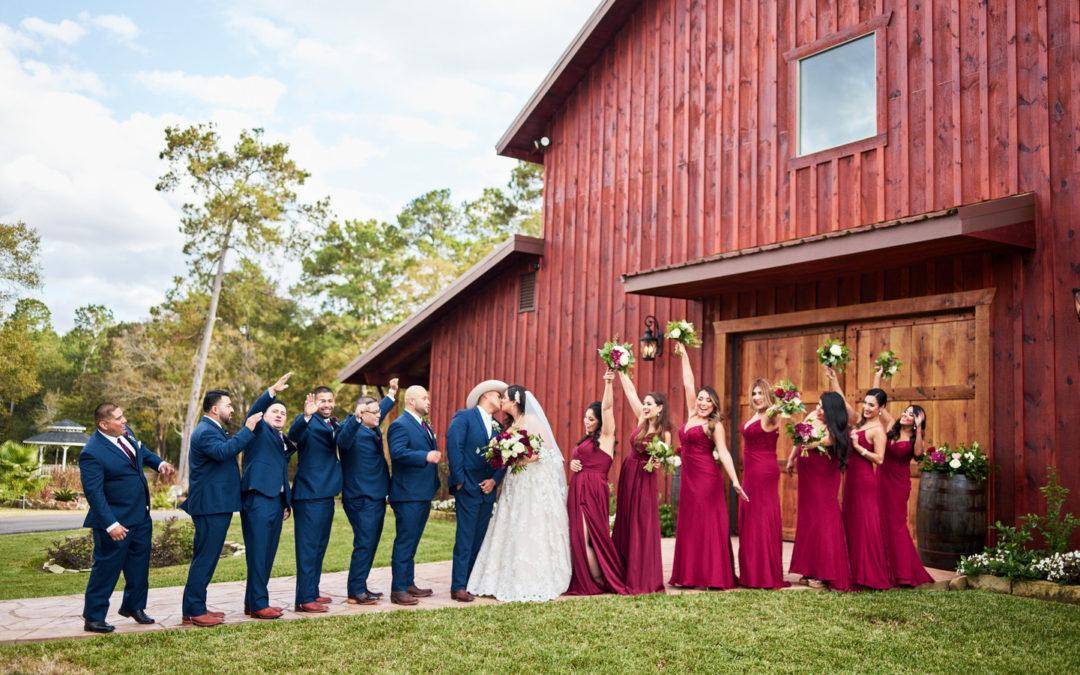 A Romantic Wedding in Texas – Israel & Mayra