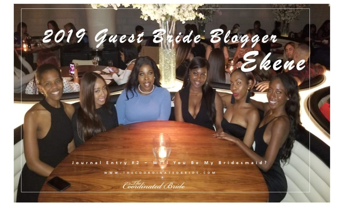 Guest Bride Blogger Ekene [JE#2] – Bridesmaid Proposal