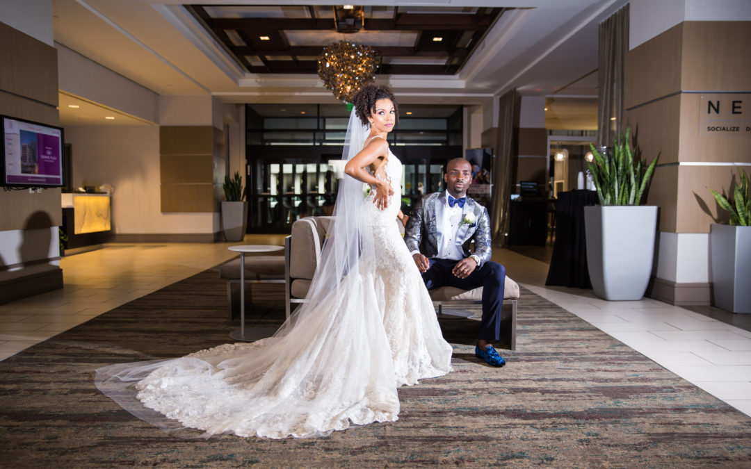 A Traditional American and Nigerian Wedding – Natasha and Onu