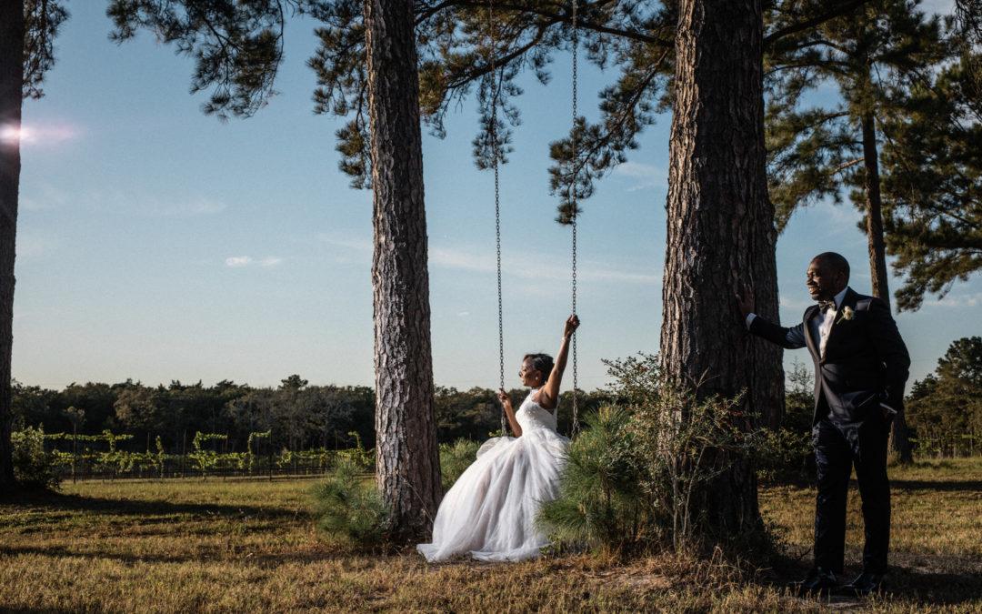 A  Blush, Cream and Champagne Romantic Texas Wedding