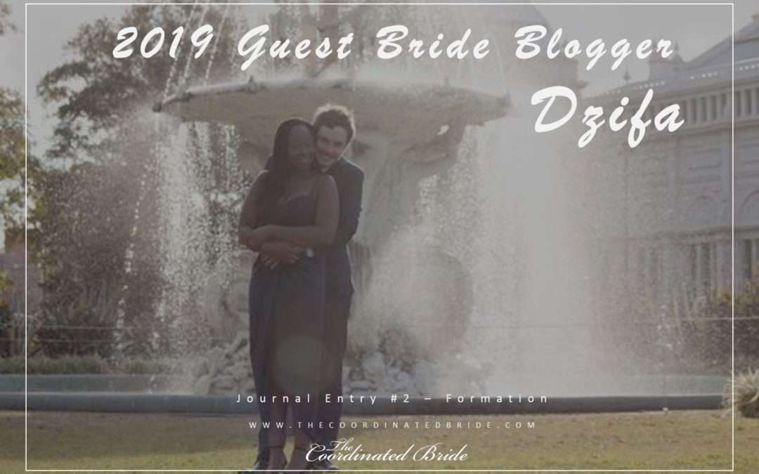 Guest Bride Blogger Dzifa {JE#2}- Formation