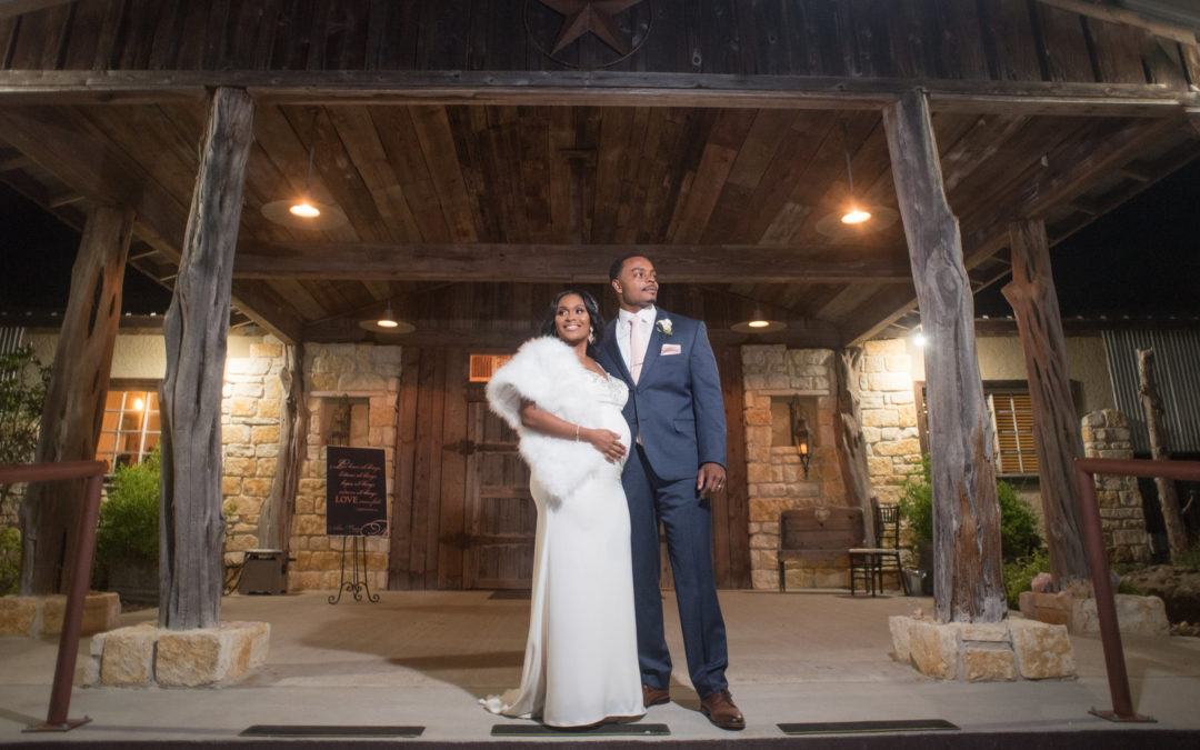 Chic Southern Ranch Wedding: Natara & George