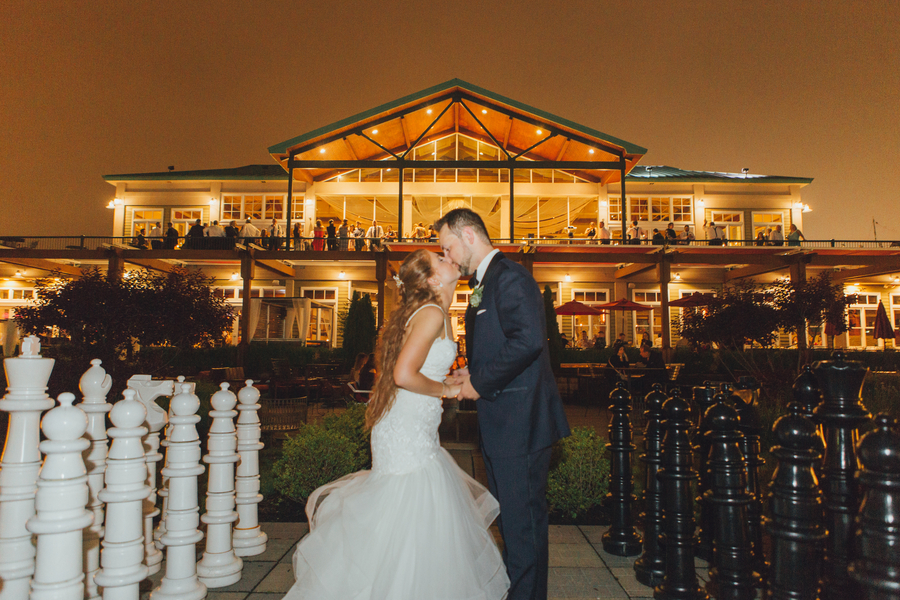 Romantic Jersey City Wedding at The Liberty House – Jaci & Ryan