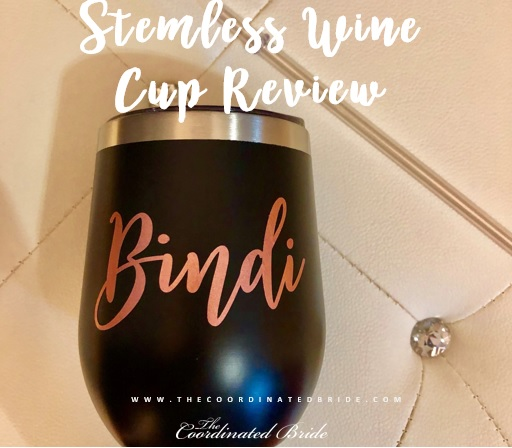 Personalized Stemless Wine Cup – Bridesmaids Gifts Boutique