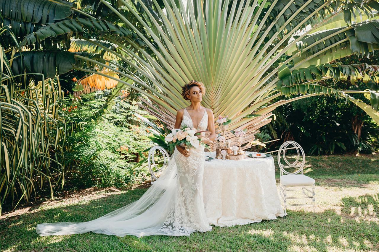 A Taste for the Tropics, An Island Inspired Bridal Shoot in Tobago