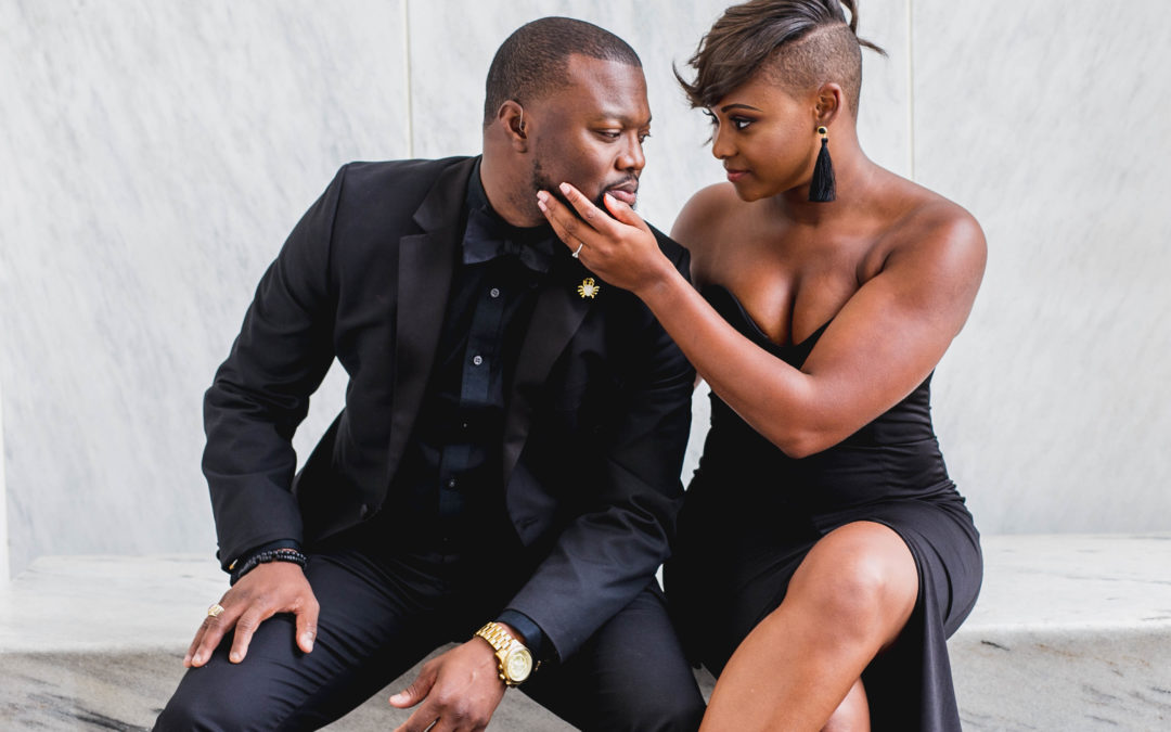 A Romantic Engagement Shoot in Washington, D.C – Keon and Angelica