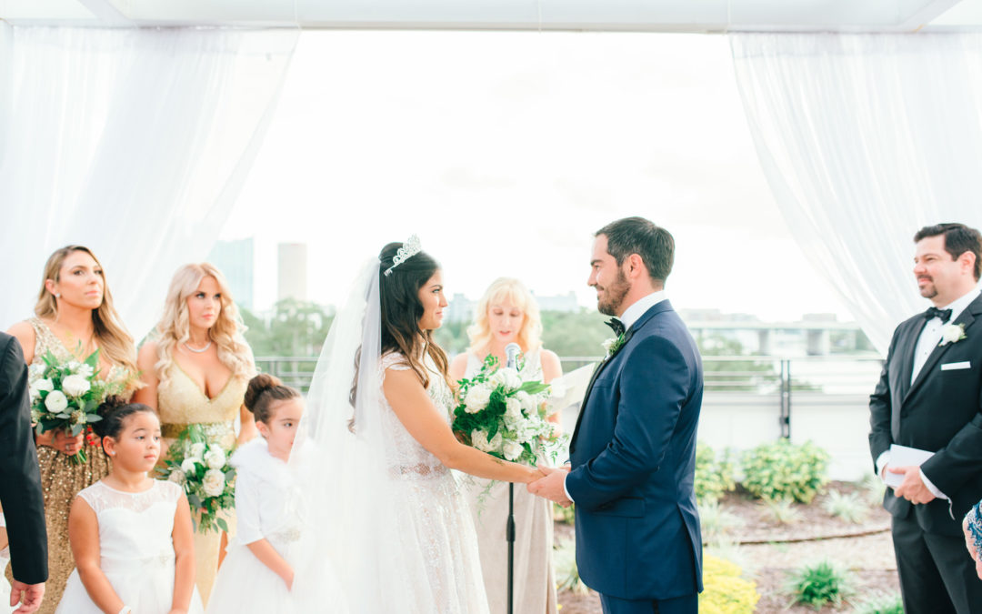 Ultra Chic Tampa Wedding: Amanda & Gustavo