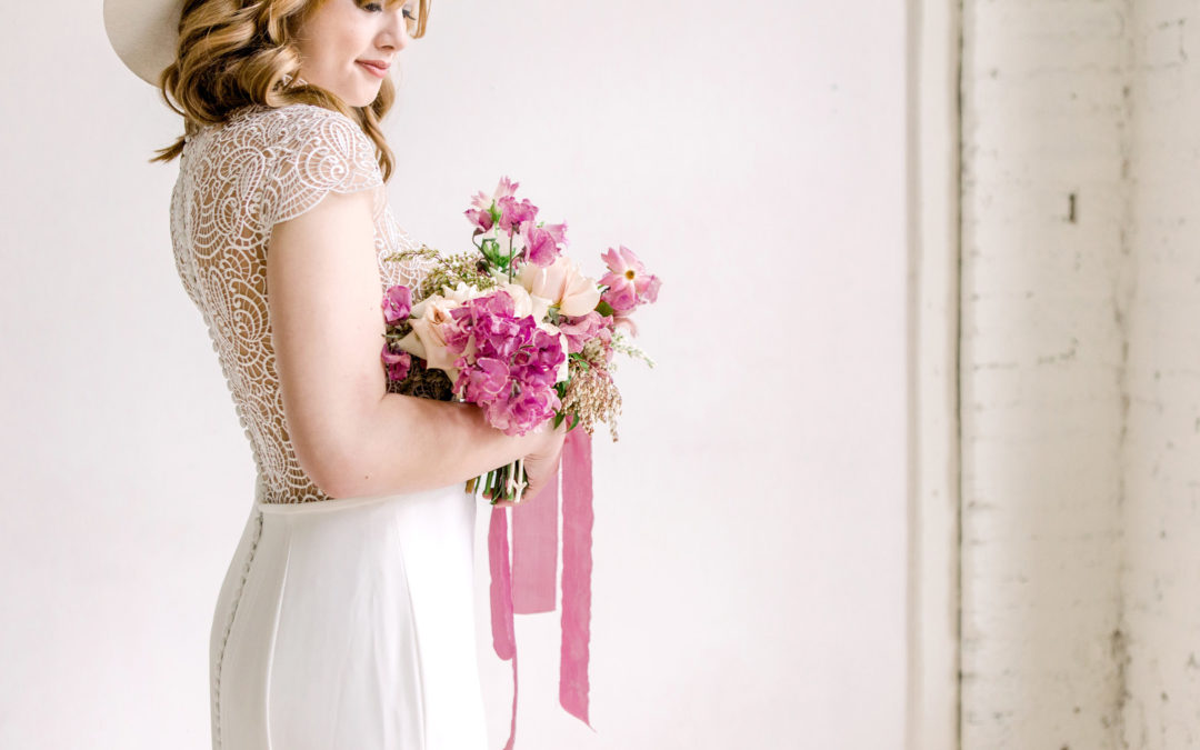 Modern Boho Spring Bridal Styled Shoot