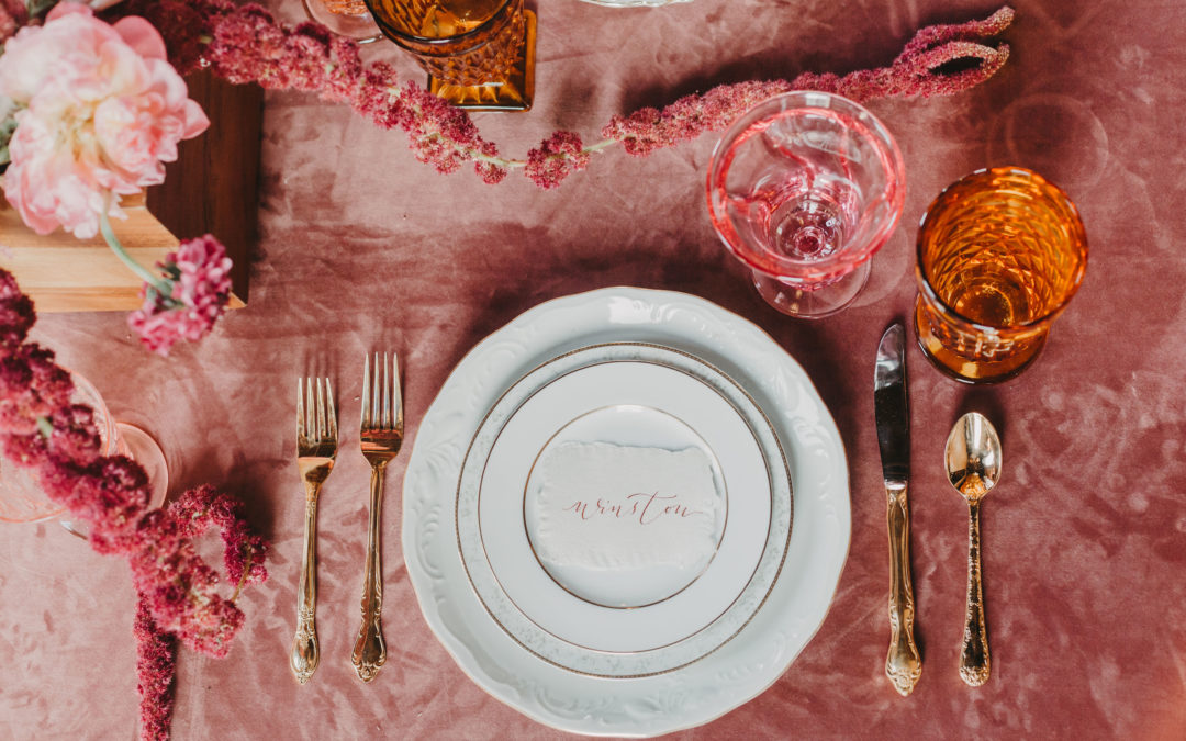 Romantic Blushed Vintage Wedding Inspiration
