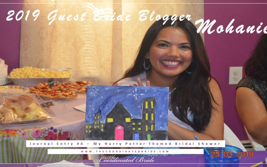 Guest Bride Blogger Mohanie {JE#4}-My Harry Potter Themed Bridal Shower