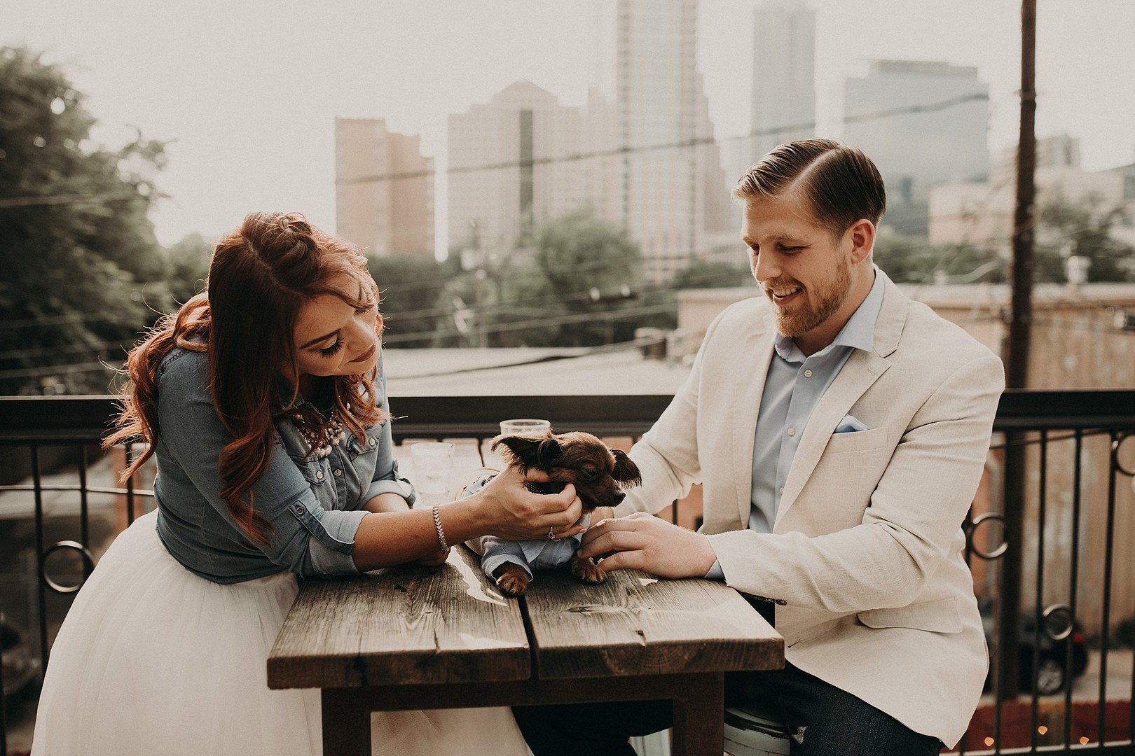 A Romantic Engagement in Texas – Heather and Alex