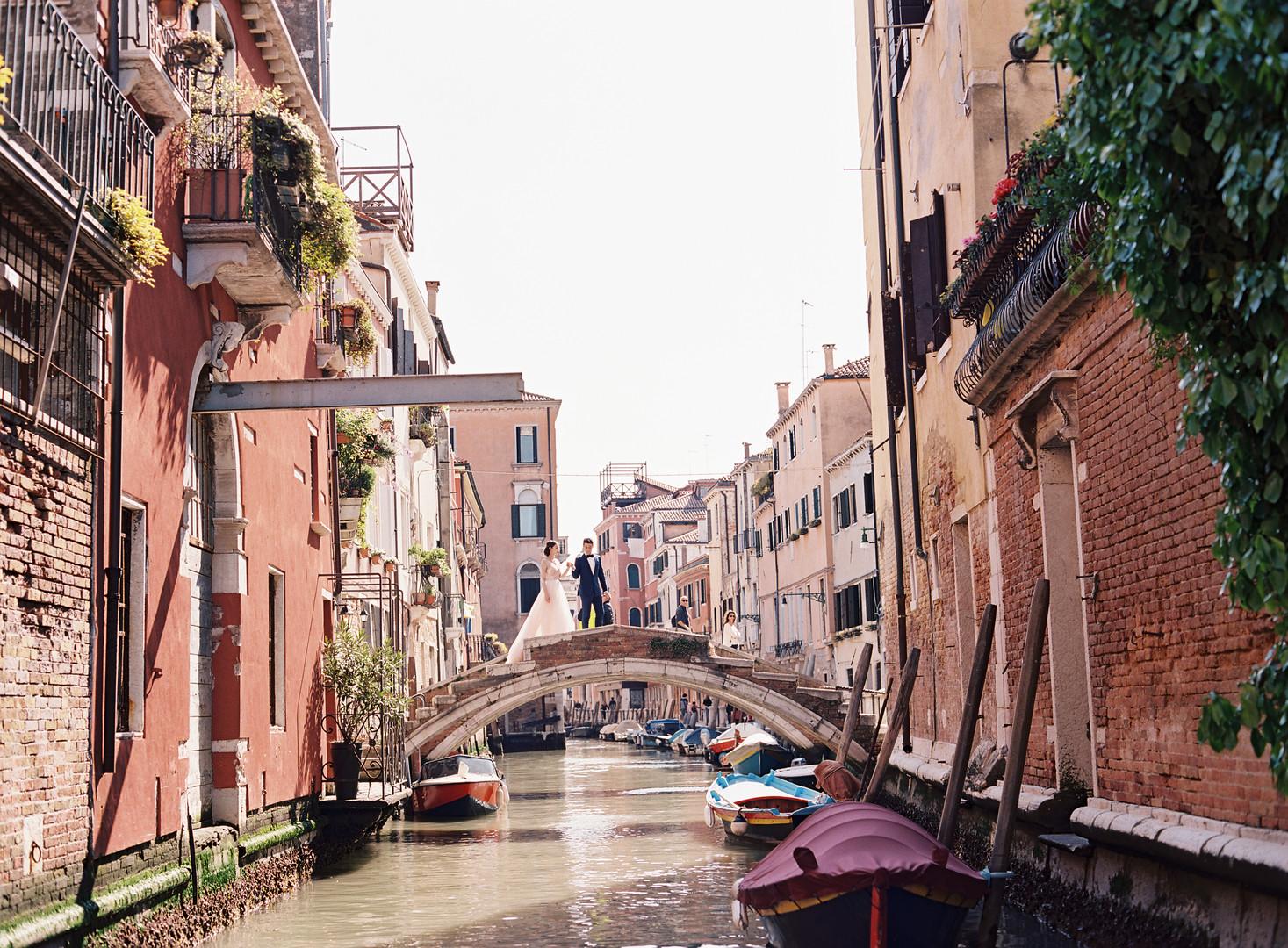 Venice Love Story: Anna & Mark