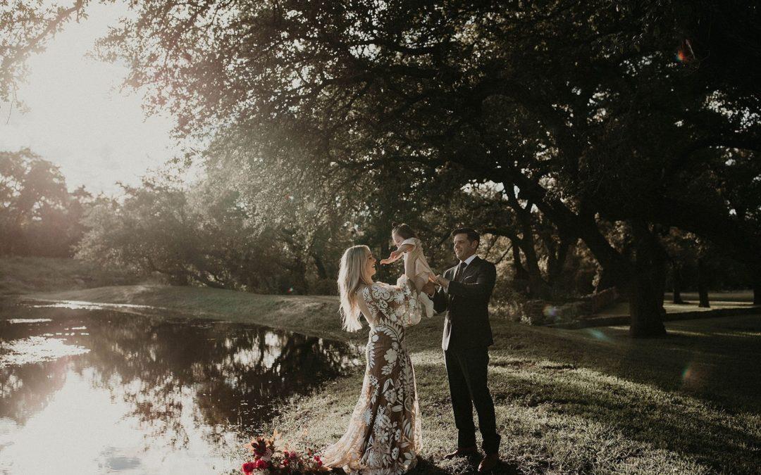Austin, Texas Non Traditional Bohemian Wedding Inspiration