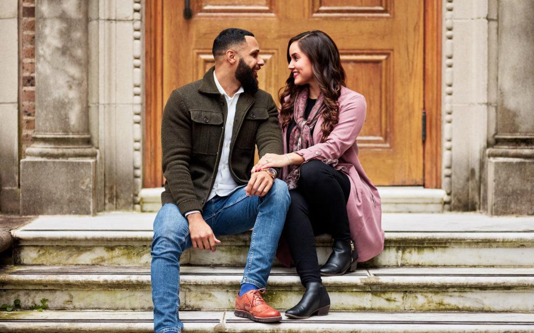 Historic Venue Surprise Proposal: Natalie & Markus