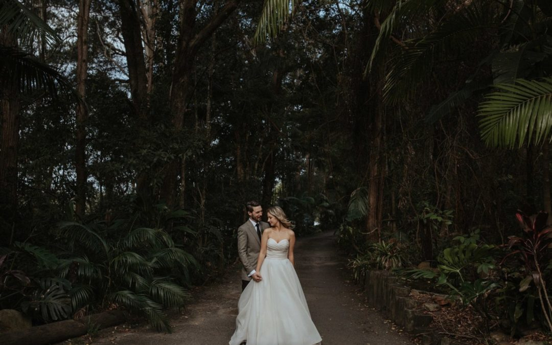 Exotic Australian Forest Wedding: Alysia & Simon