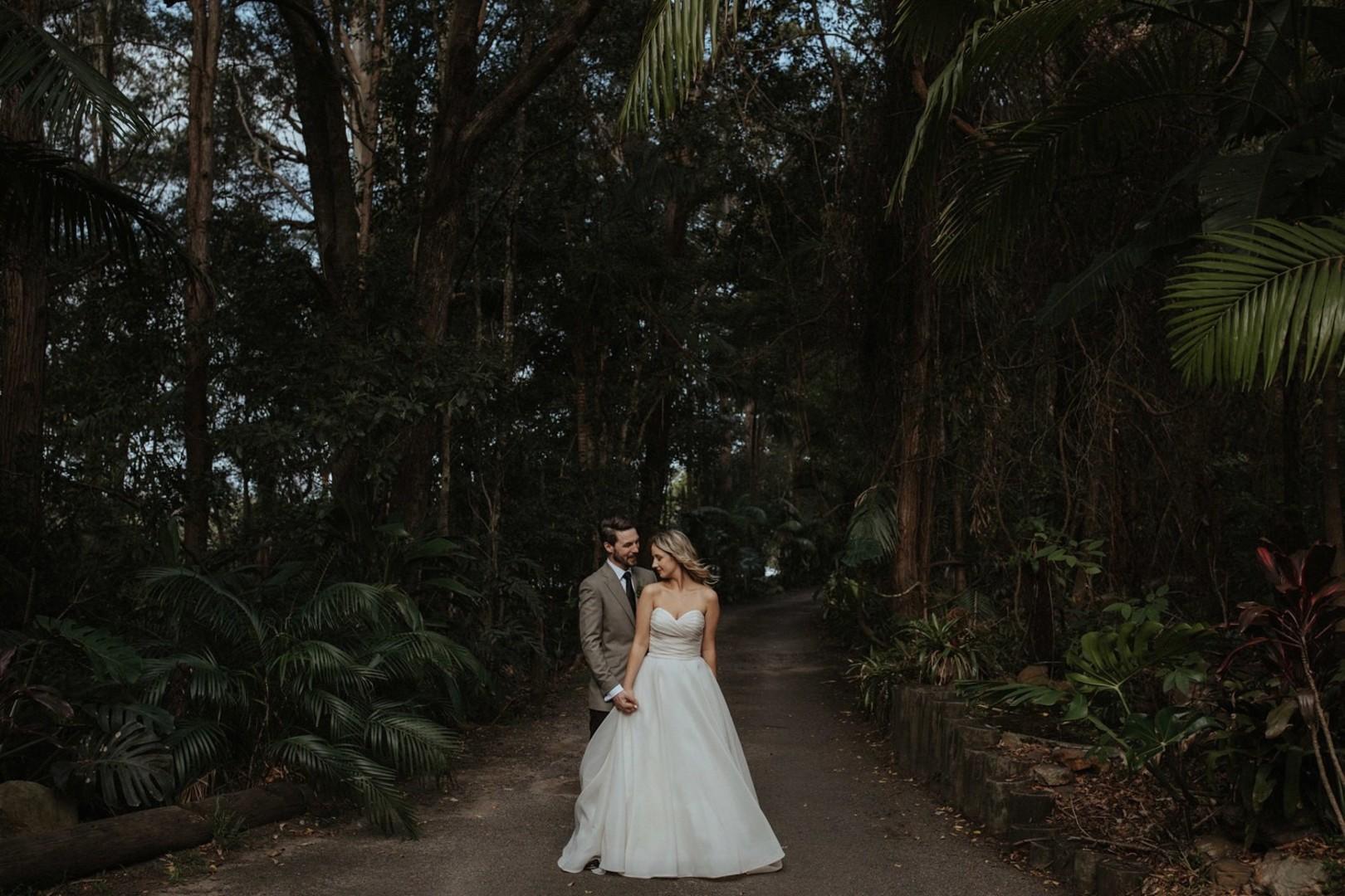 Exotic Australian Forest Wedding: Alysia & Simon