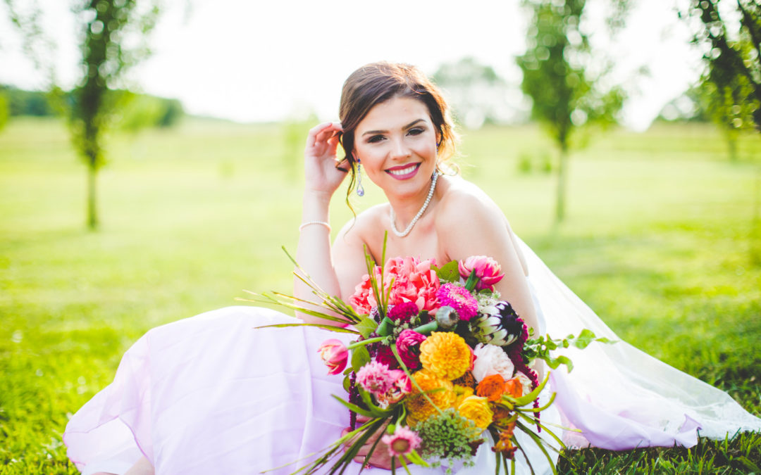 Watercolor Bridal Styled Shoot