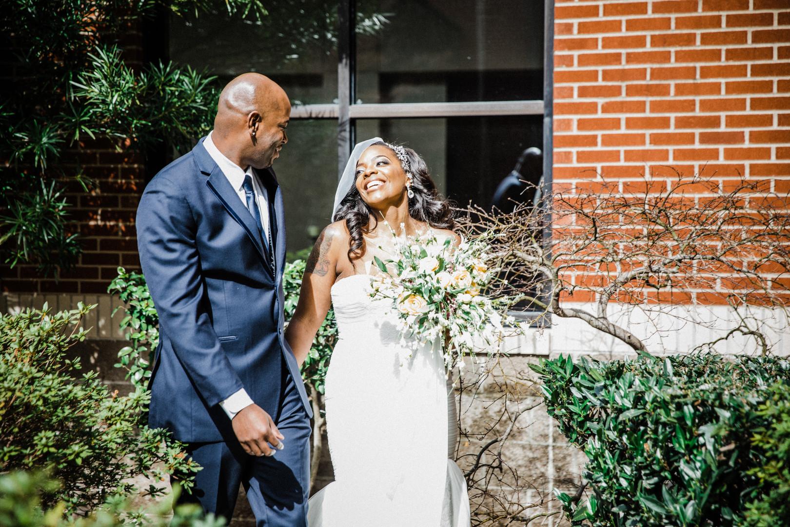 Hope Gardens Memphis Wedding: Sherika & Andre