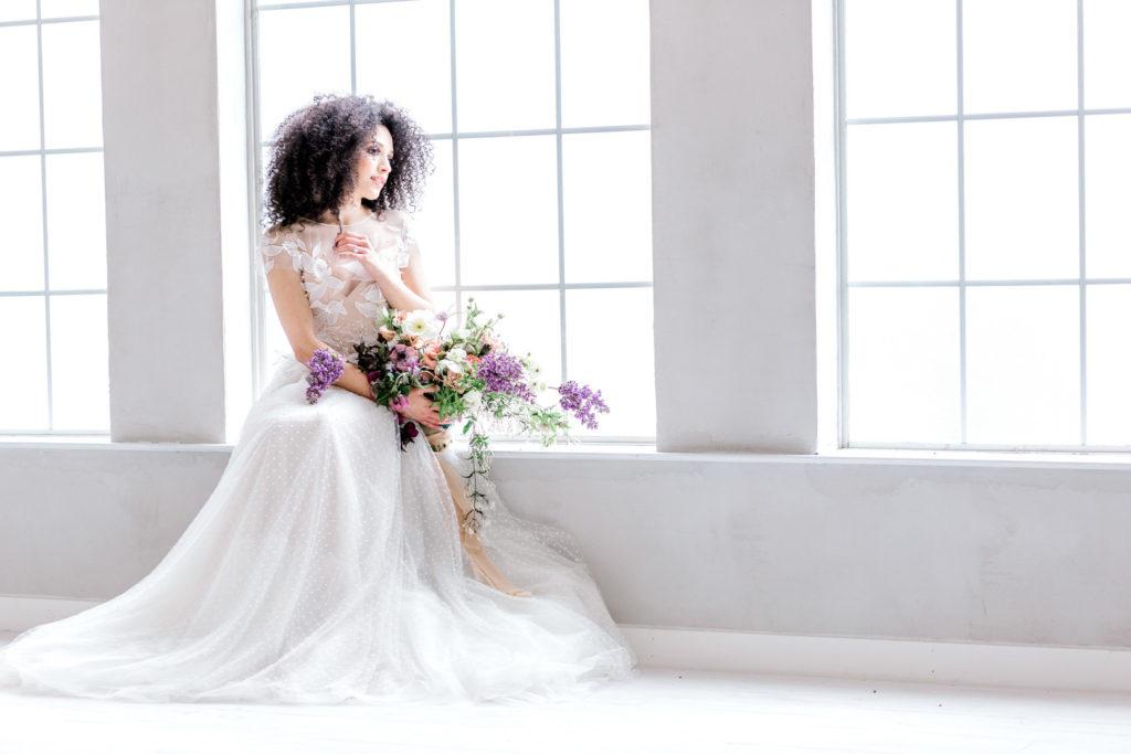 Something Blue Bridal Styled Shoot