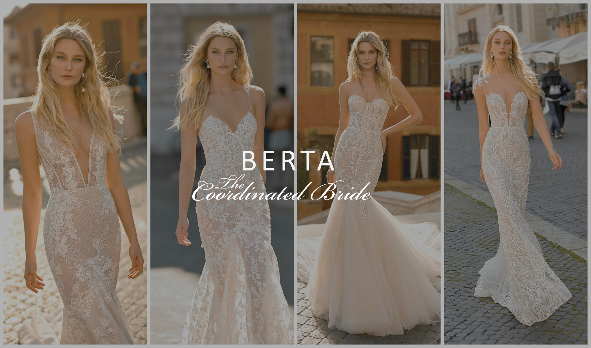 18abb3ae1029 BERTA PRIVÉE Nº 2 Collection | The Coordinated Bride