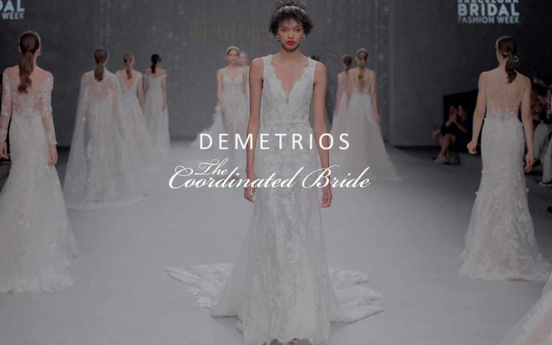 "DEMETRIOS 2020 BRIDAL COLLECTION ""Let Love Reign"""
