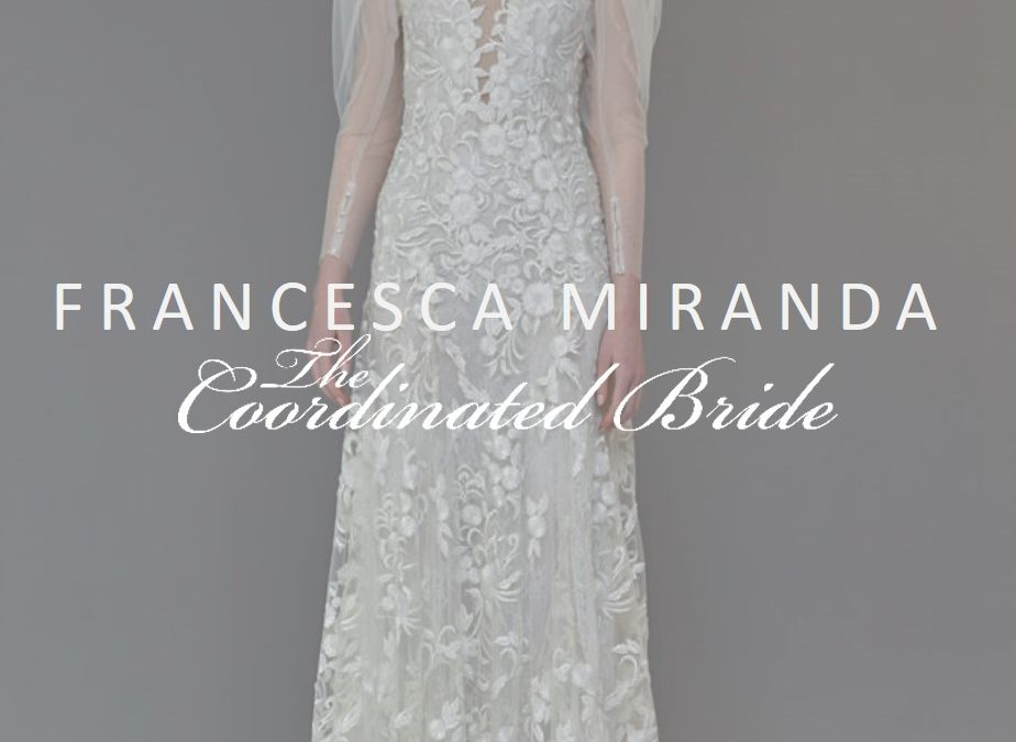 Francesca Miranda Evening Wear & Bridal Spring 2020 {NYBFW}