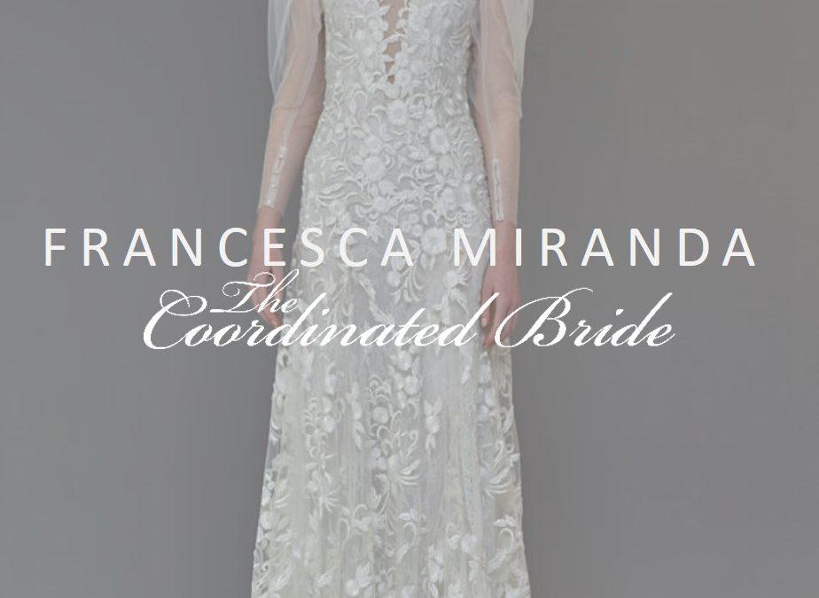 Francesca Miranda Evening Wear & Bridal Spring 2020 {NYBFW}
