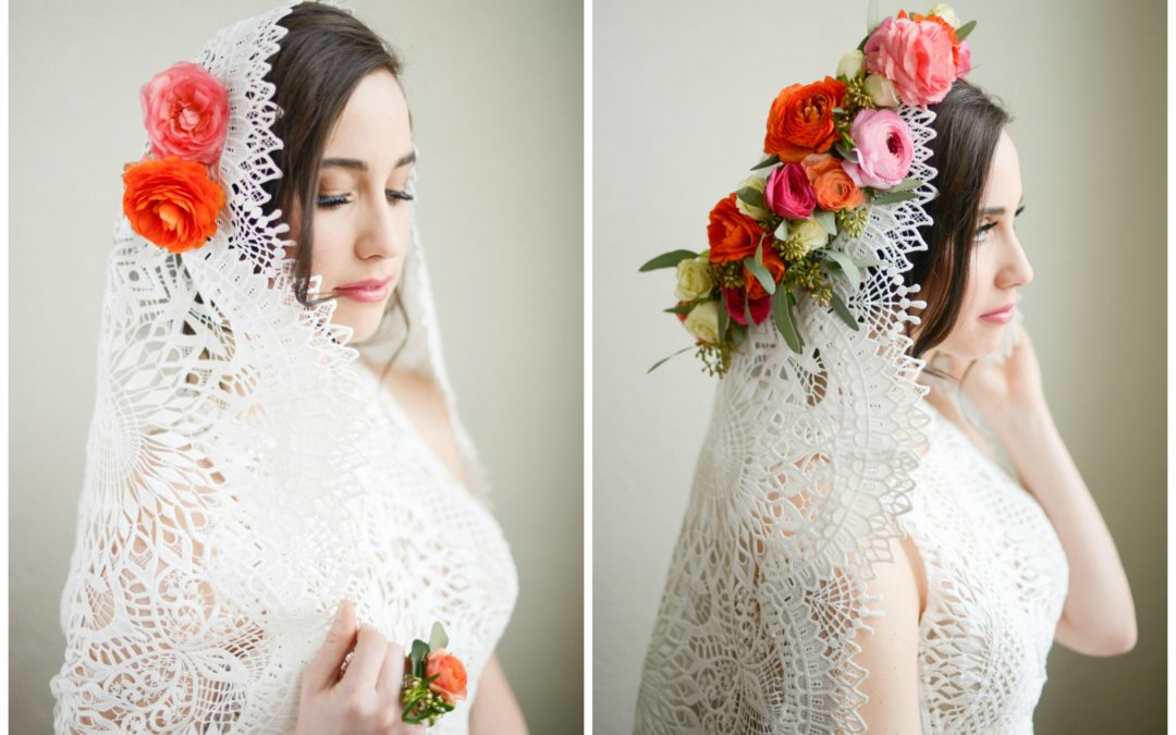 Spring Flowers Bridal Inspiration