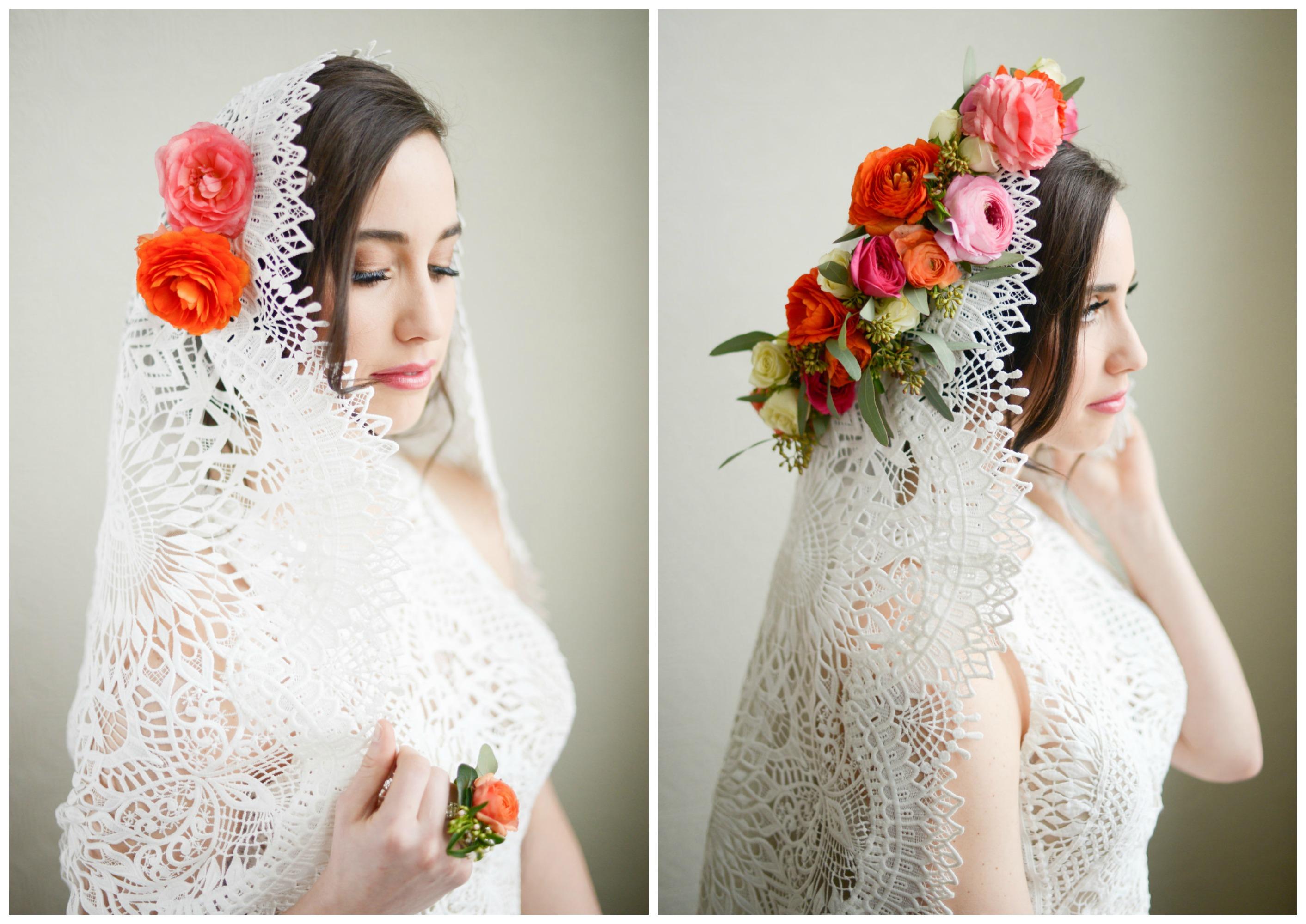 Spring Flowers Bridal Inspiration