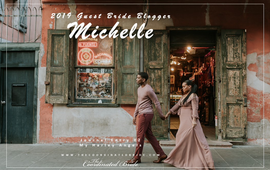 Guest Bride Blogger Michelle [JE#2]- My Harley Angels