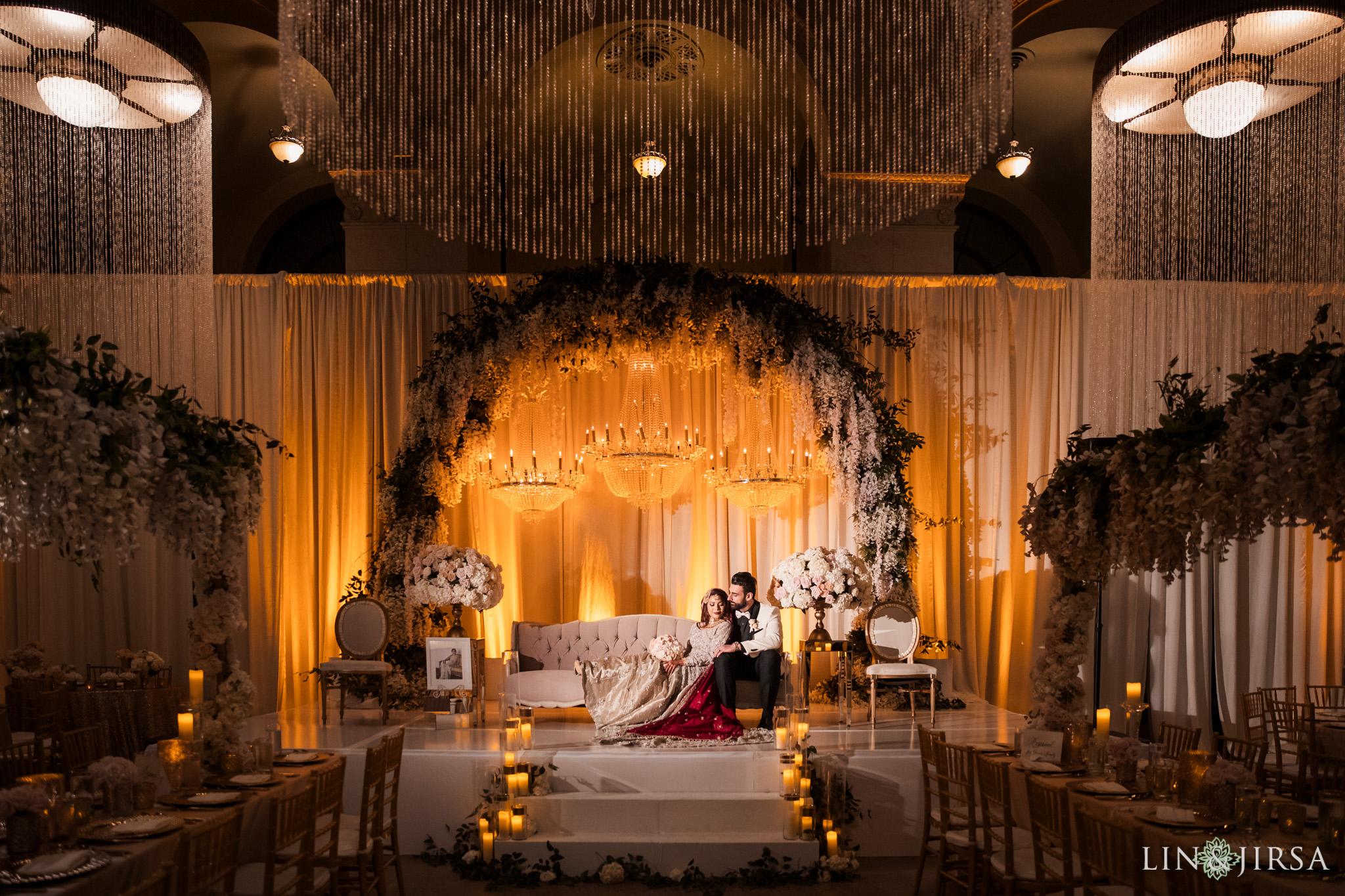 A Majestic Downtown Los Angeles Pakistani Wedding