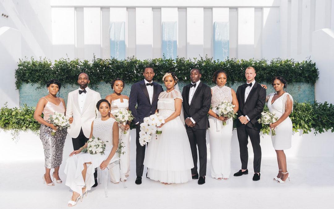 Modern Luxe Miami Wedding: Brooke and Layne