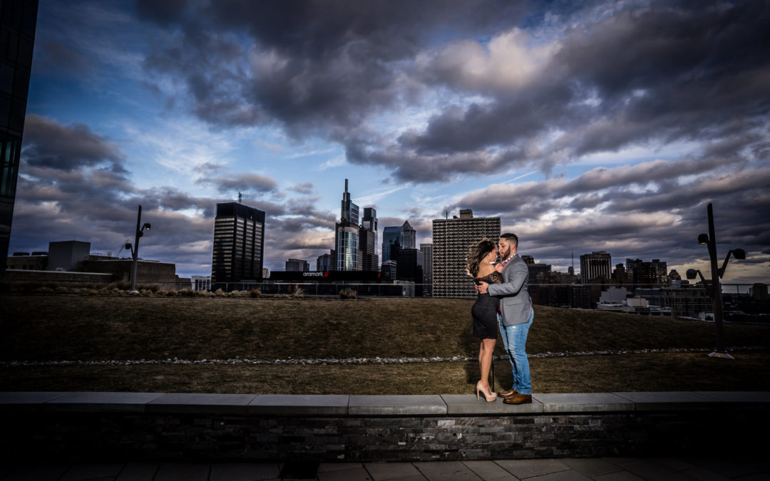 Urban Philadelphia Engagement: Natalie & Giovanni