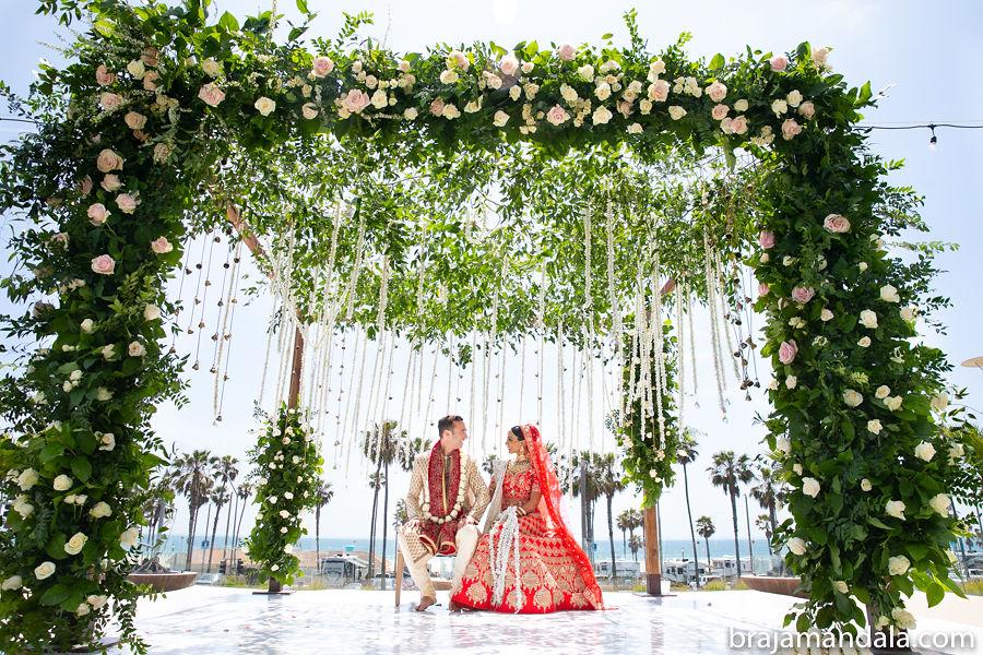 A Hindu & Jewish California Wedding, Poonam & Mark