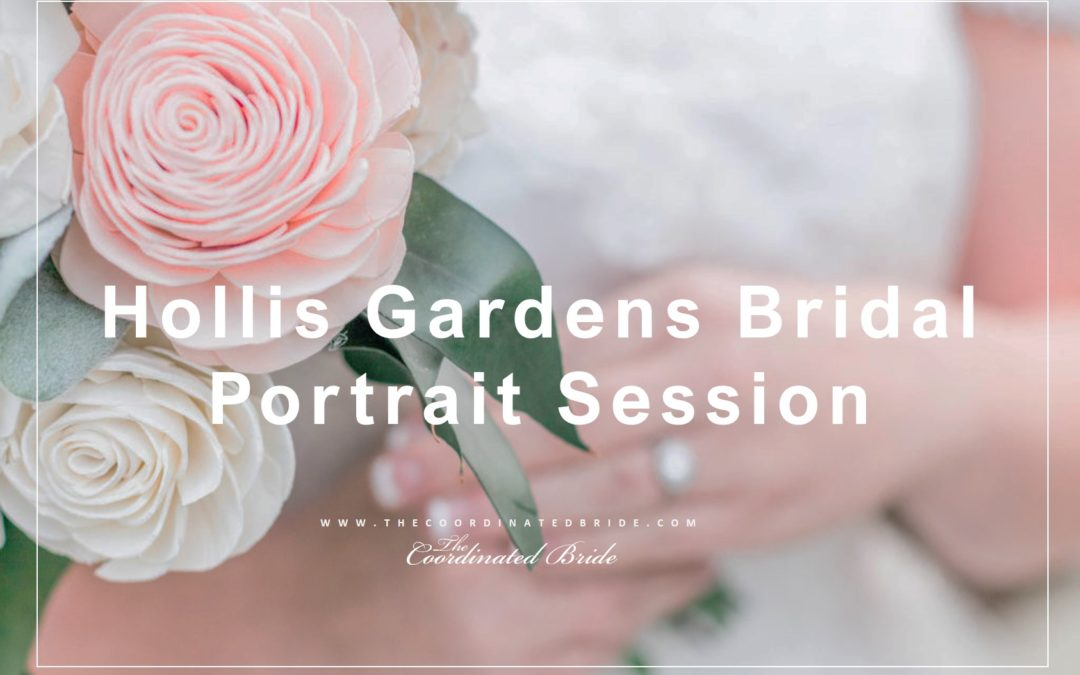 Serene Hollis Garden Bridal Portrait Session