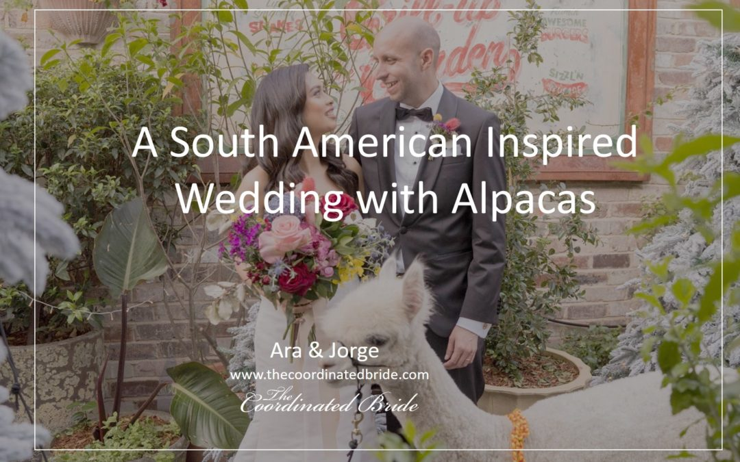 A Festive & Magical South American Inspired Wedding with Alpacas