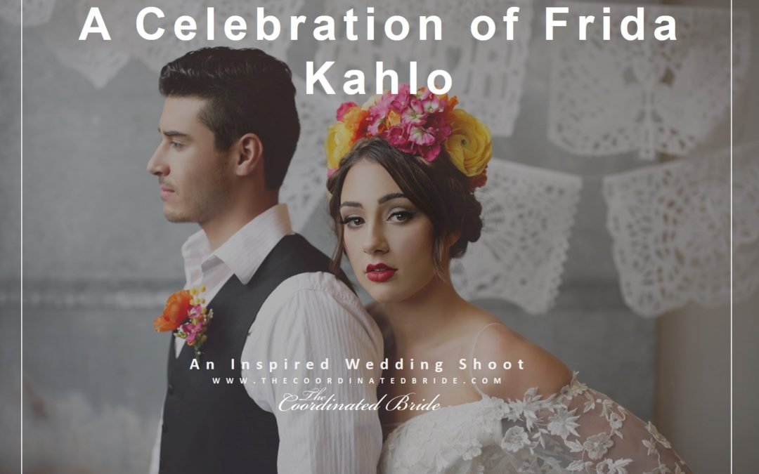 A Vibrant and Colorful Frida Kahlo Inspired Wedding Shoot