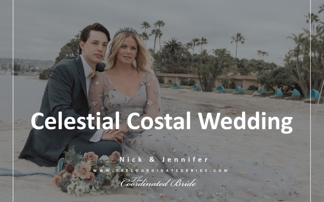 California Celestial Coastal Wedding Inspiration