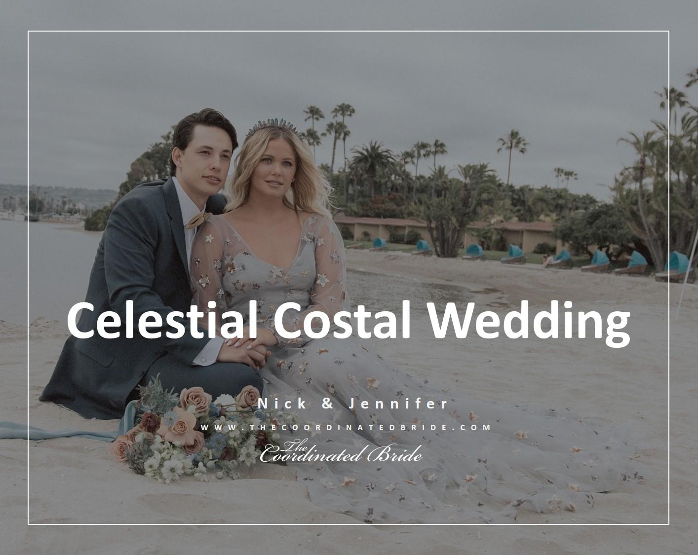 California Celestial Coastal Wedding Inspiration