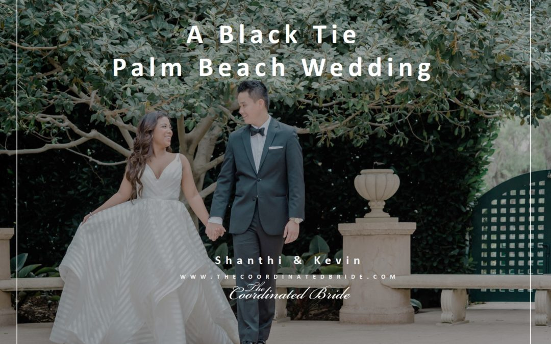A Blush, Ivory & Black-Tie Palm Beach Wedding