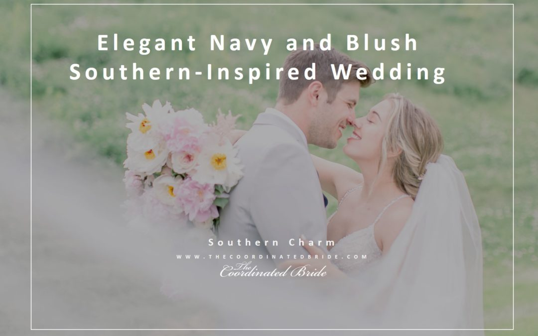 Elegant Navy & Blush Southern-Inspired Wedding