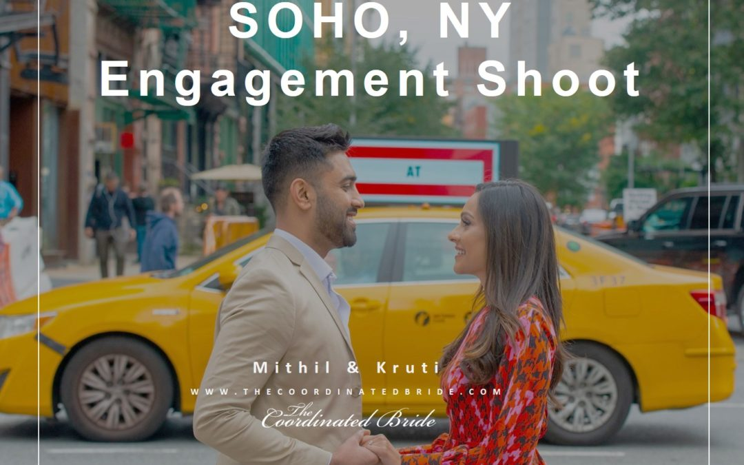 SOHO, NY Engagement Shoot Mithil & Kruti