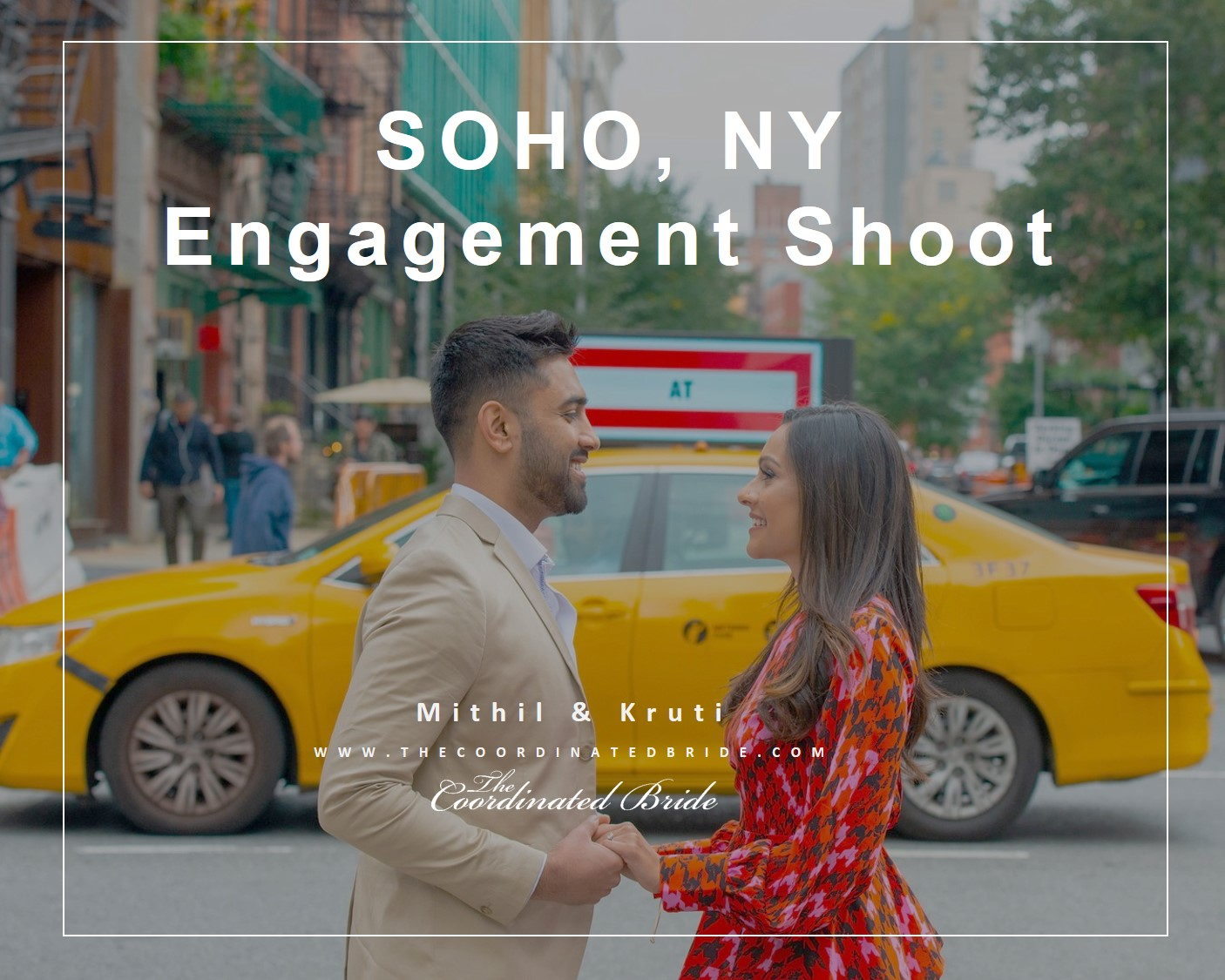 SOHO, NY Engagement Shoot Mithil & Kruti