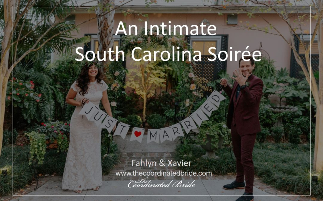 An Intimate Soirée in Downtown South Carolina – Fahlyn and Xavier