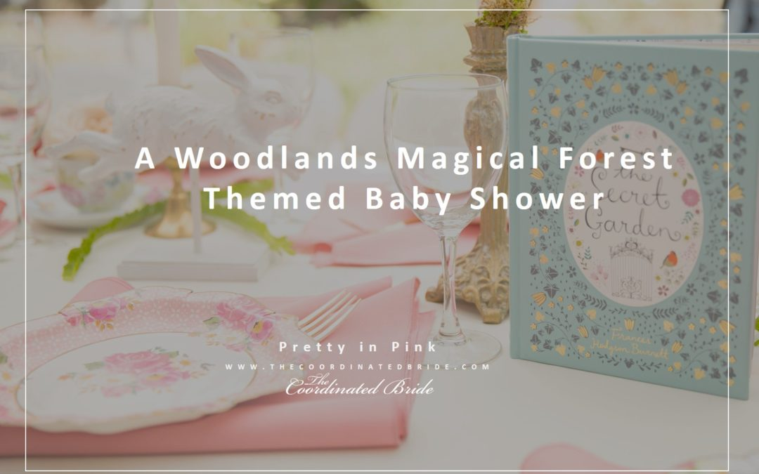 A Woodland Magical Forest Themed Baby Shower