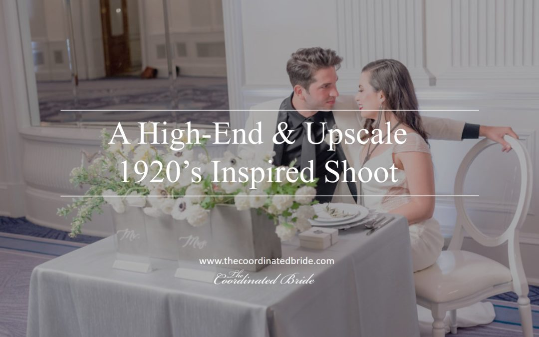 1920s Inspired Styled Shoot –  Sarah Larae Photography